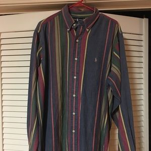 Vintage 90's Ralph Lauren Long Sleeve Button Up